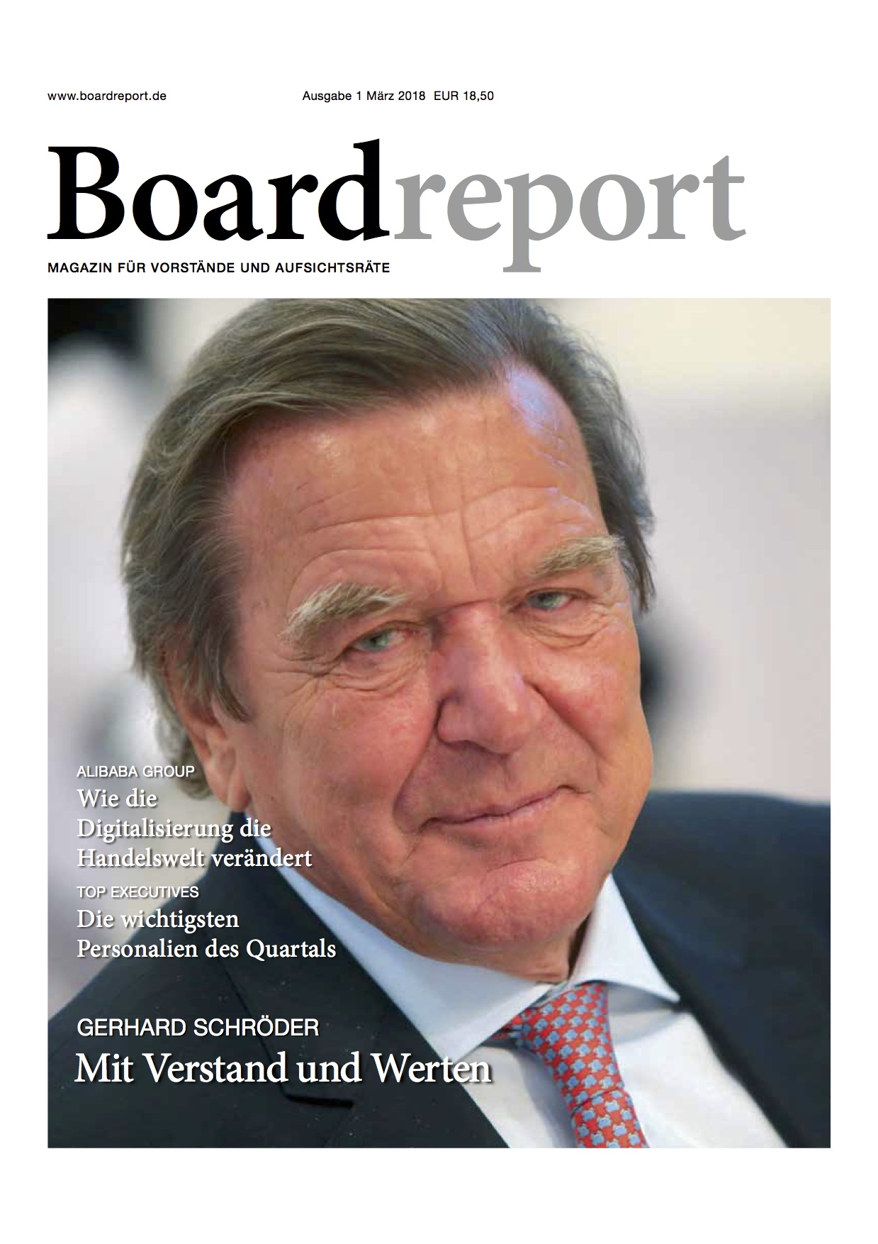Boardreport 1 2018 Cover